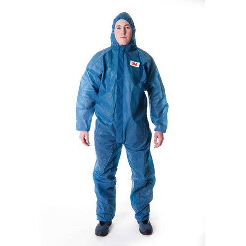 3M 4500 Basic CE Disposable Overall BLAUW